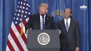President Trump Delivers Remarks on Drug Pricing