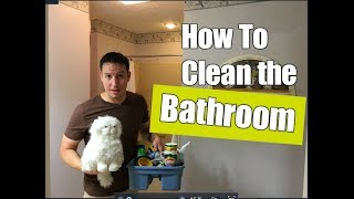 How To Clean a Bathroom | Easy Cleaning Routine | Clean With Me