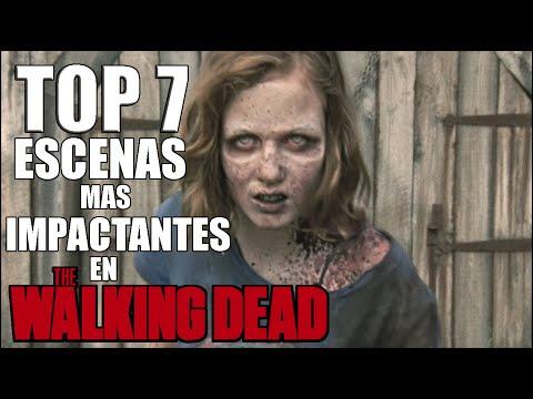 Top 7: Escenas mas Impactantes en The Walking Dead ᴴᴰ
