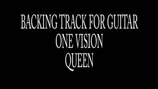 Backing Track For Guitar -One Vision- Queen (Brian May)