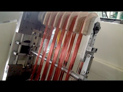 How To Use Horizontal Big Wire Electric Motor Stator Coil Winding Machine