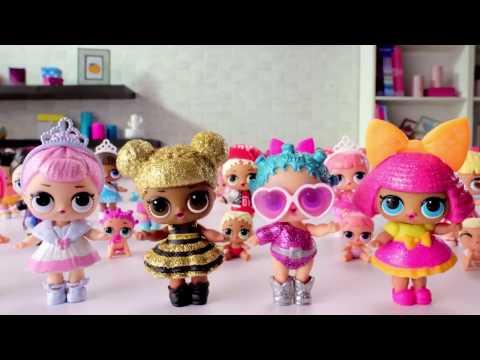 куклы Lol Surprise 7 сюрпризов внутри Youtube
