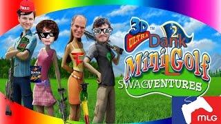 3D Ultra Dank mini-golf adventures: Achievement Hunter MLG Montage Parody