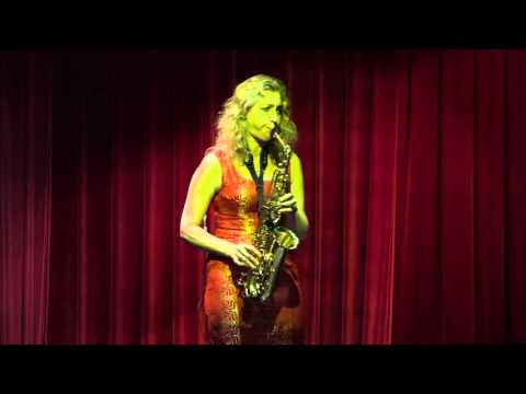 Елена Филипова Джазовые импровизации на саксофоне 2016 СТОЛИК НА ДВОИХ3