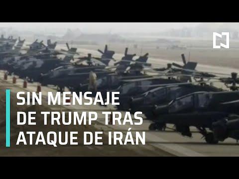 Irán ataca base