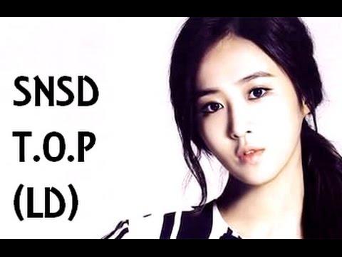 SNSD -T.O.P (Line Distribution)