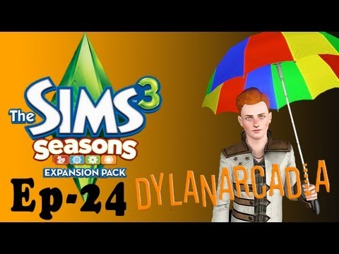 Let's Play The Sims 3 Seasons EP 24 (Glitches V2) |