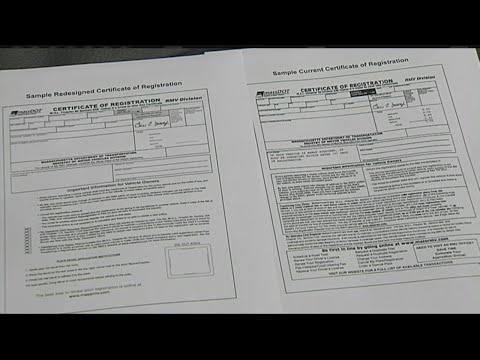 Rmv 1 Form >> Rmv Certificate Of Vehicle Registration Form Now Online