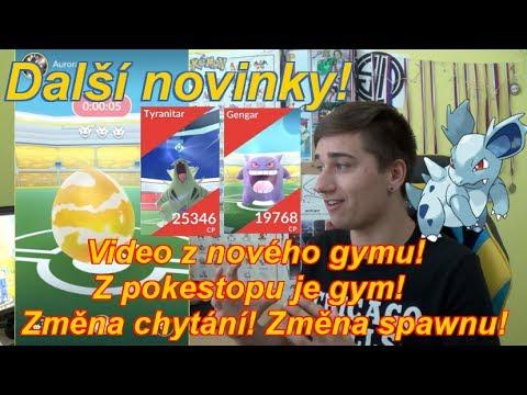 Pokemon GO | DALŠÍ NOVINKY! GYM VIDEO, ZMĚNA CHYTÁNÍ A SPAWNU! | Jakub Destro