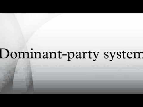 Dominant-party system