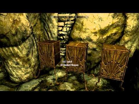 "Using ""coc qasmoke"" in Skyrim - YouTube"
