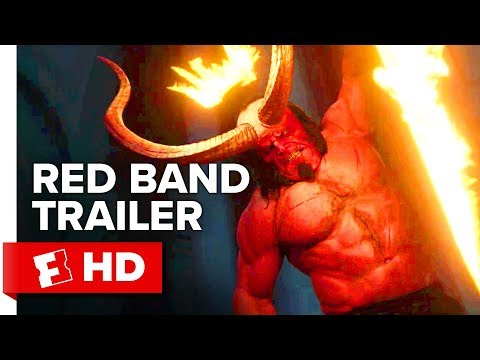 Ayo - Here's the new Red Band trailer for Hellboy.