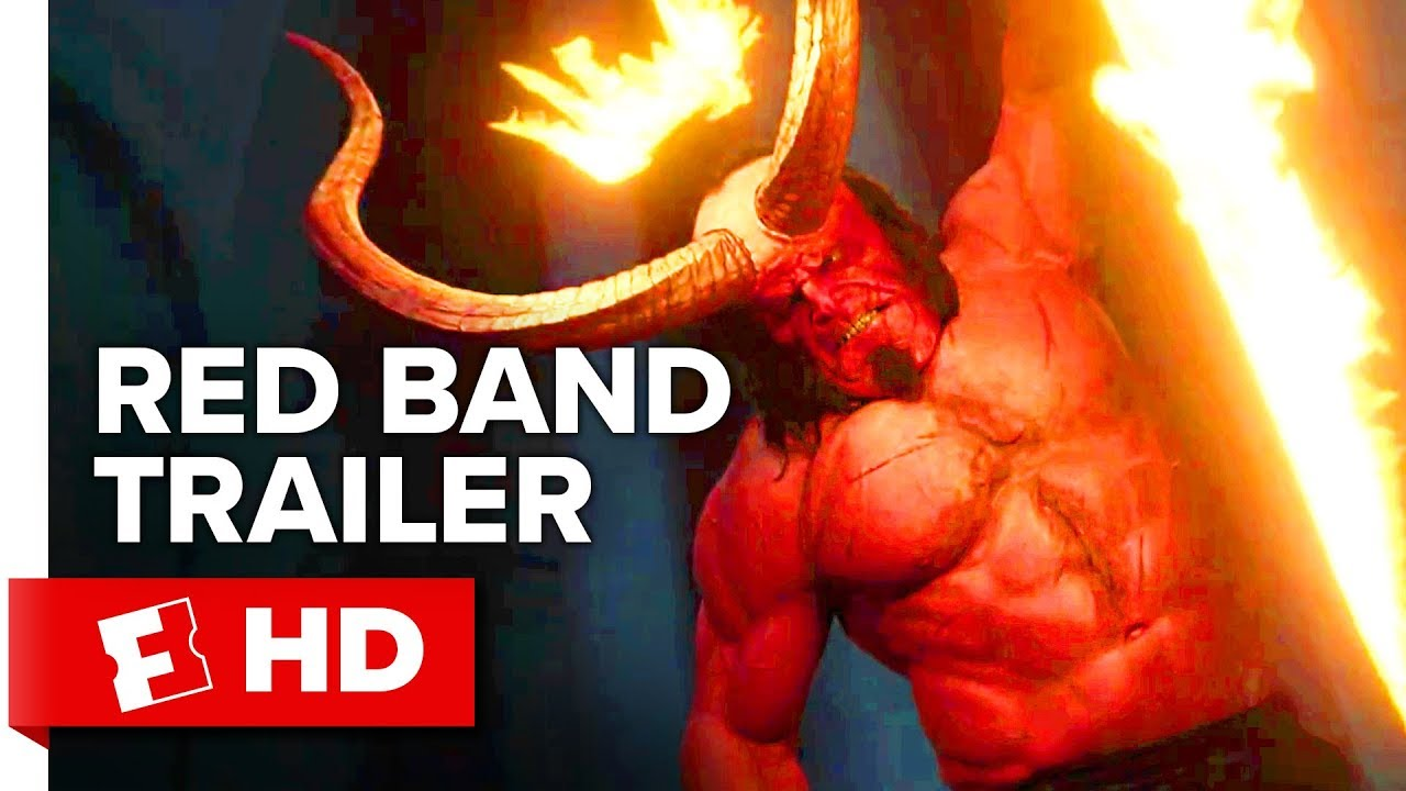 Hellboy Red Band Trailer 1 2019 Movieclips Trailers