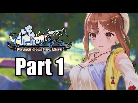 ATELIER RYZA: EVER DARKNESS & THE SECRET HIDEOUT Gameplay Walkthrough Part 1 - No Commentary