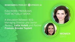 Podcast: Flex Work Programs That Actually Work