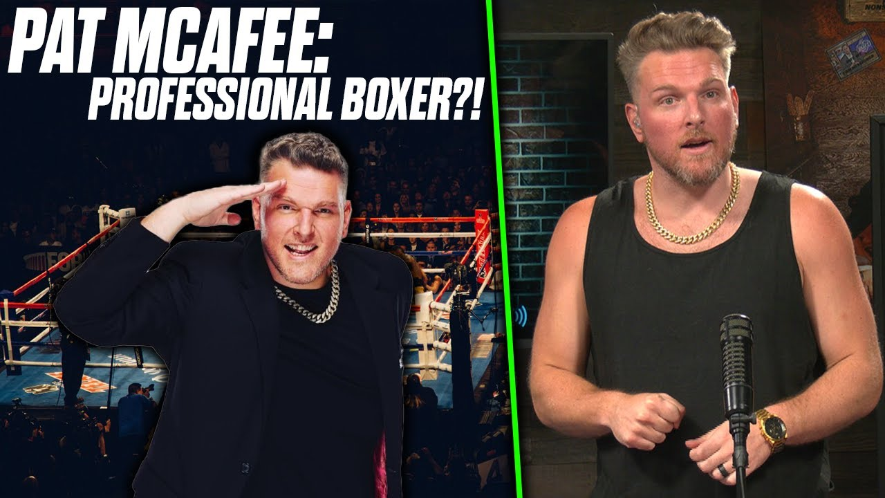 Pat McAfee MIGHT Want To Box In A Real Match