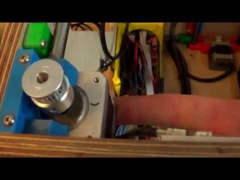 Oględziny drukarki X3D i naprawa. #010