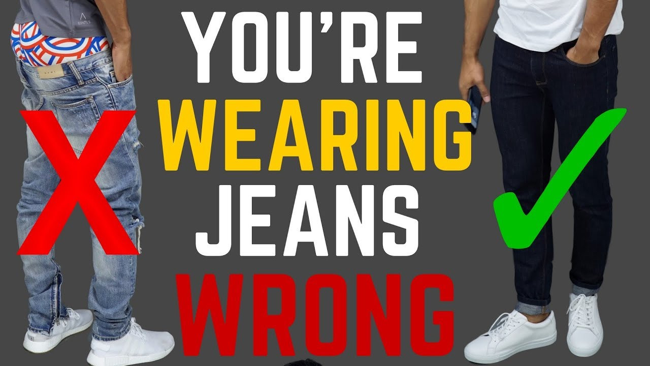36e6136c2 6 Ways You're Wearing Your Jeans WRONG | STOP Wearing Your Jeans Like This!