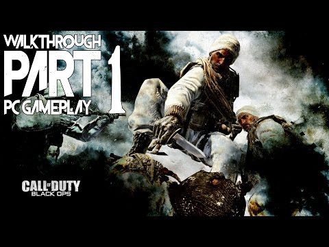 Call of Duty: Black Ops - Walkthrough Part 1 - HD 1080p