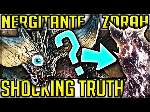 INSANE Nergigante and Zorah Magdaros Story - Monster Hunter World! (Elder Dragon Migration Theory)