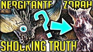 INSANE Nergigante and Zorah Magdaros Story - Monster Hunter World! (Elder Dragon Migration Theory)