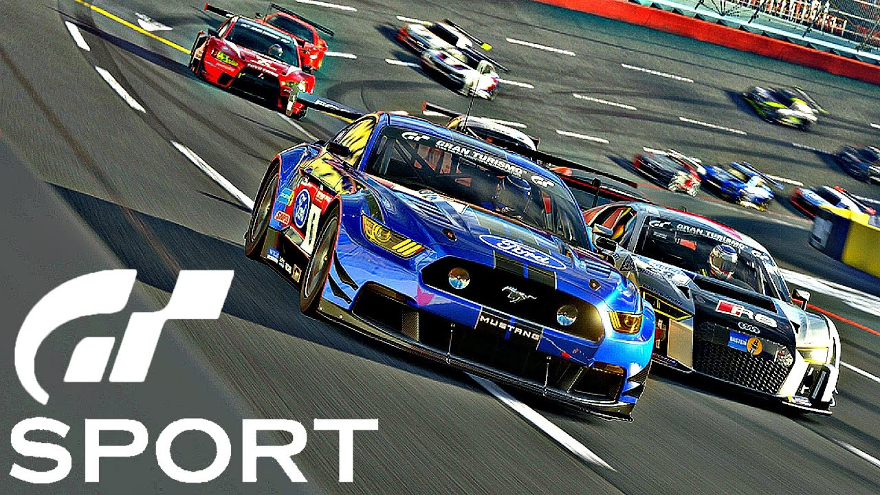 Race Car Wallpaper 1080p Gran Turismo Sport Gameplay Ford Mustang Gt Brands