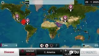 Plague Inc: Shadow Plague On Mega Brutal! (In 13 Minutes!)