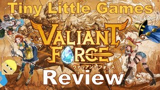 Valiant Force Android iOS Game Review