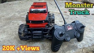 1:20 HUMMER MONSTER RACING RC CAR,UNBOXING AND TESTING