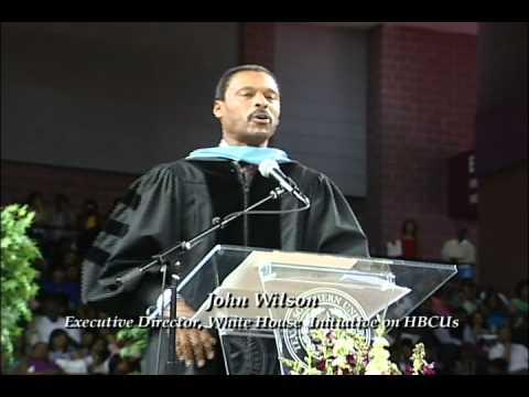 TSU Commencement 2011 - Speaker John Silvanus Wilson, Jr.
