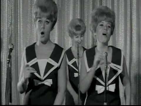 """DATELINE DIAMONDS (U.K.; 1965) The Chantelles sing """"Please Don't Kiss Me"""""""