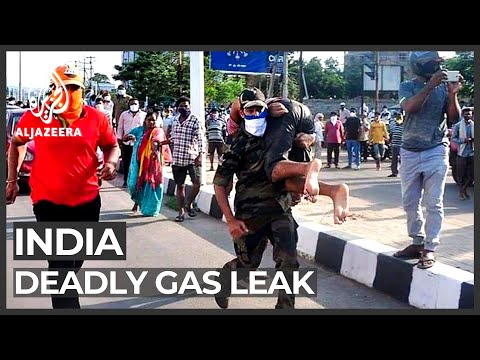 Deadly gas leak at India chemical plant, hundreds hospitalised