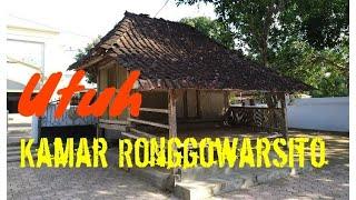 Download lagu LUAR BIASA KAMAR TIDUR RONGGOWARSITO di Tegalsari masih utuh MP3