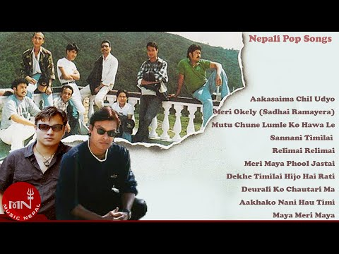Music Nepal Pop Jukebox Vol 1 | Gloomy Guys | Sugam Pokhrel | The Axe Band