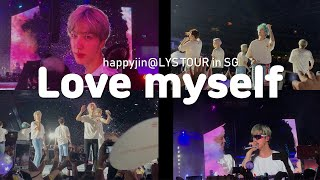 190119 BTS _ love myself @LYS tour in Singapore