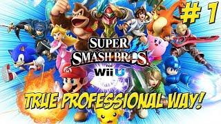 True Professional Rules Super Smash Bros. for Wii U! Part 1 - YoVideogames