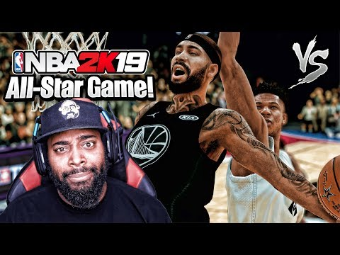 NBA 2K19 My Career Mode #18 - HOW DOES THE CPU ALWAYS KNOW?? All-Star Game VS Giannis Antetokounmpo