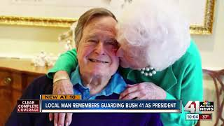 Former Secret Service Agęnt reflects on time with George H.W. Bush