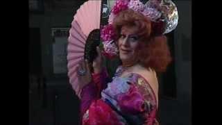 Gilda Love en «Adios Bohemia» (cabaret Bodega Bohemia de Barcelona)