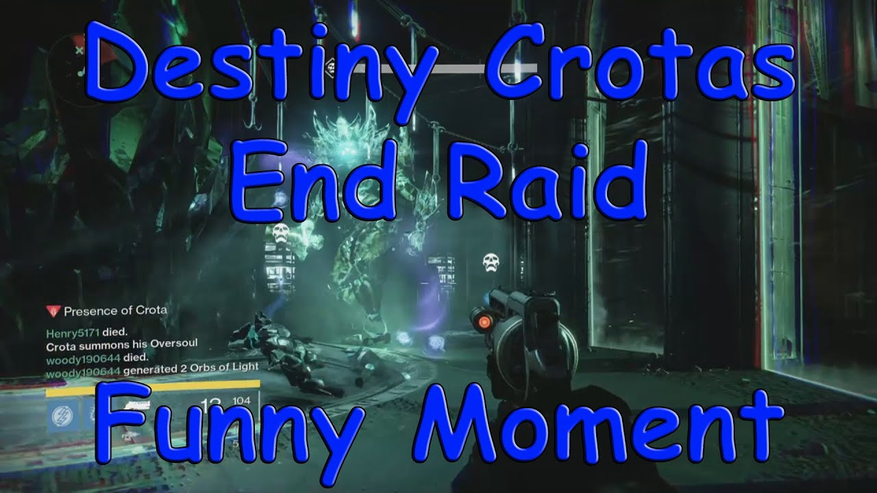 Destiny Dance Gif: Destiny Crotas End Hard Raid Funny Moment
