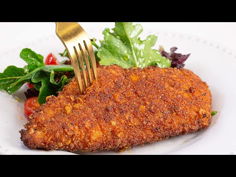How To Make Potato Chip-Crusted Fried Chicken | Kerber's Farm