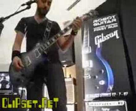Gibson Robot Guitar demo