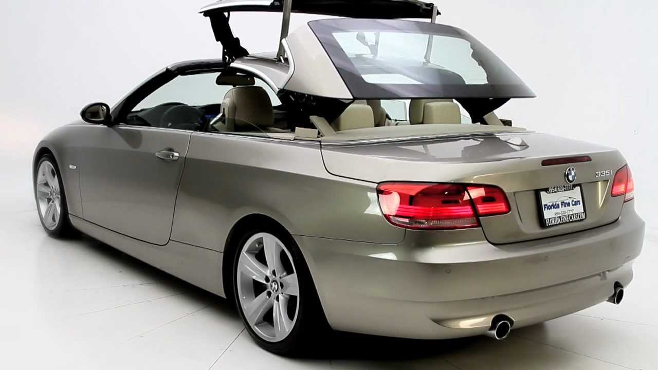Florida Fine Cars - 2007 BMW 335i Convertible Review - YouTube