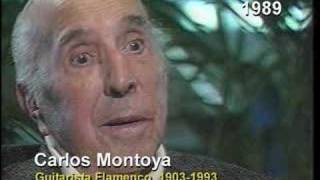 Carlos Montoya 1989 interview