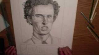 NAPOLEON DYNAMITE DRAWING