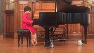 Sonatina Op. 157 no 1 Fritz Spindler played by Aranya Mitra