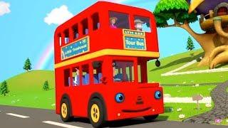 колеса в автобусе | Wheels On the Bus | Little Treehouse Russia | русский мультфильмы для детей