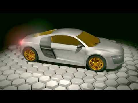 Audi R8 Animation