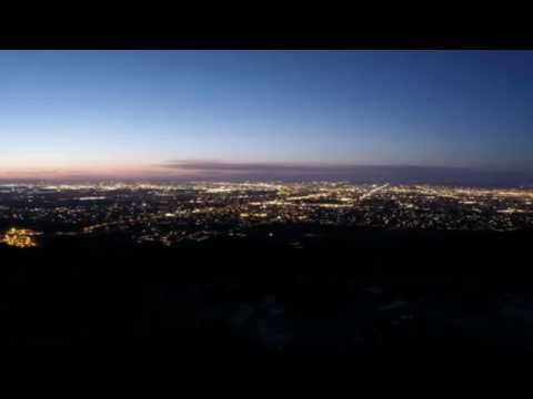 Phoenix, Arizona Skyline Sunset Time Lapse