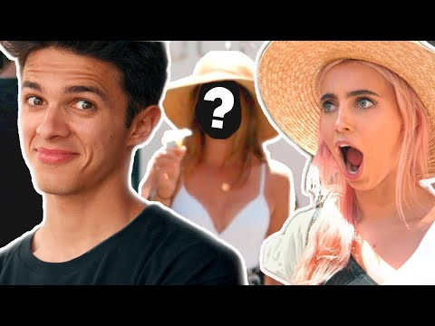 BRENT FLIRTS w A GIRL IN ITALY  Brent Rivera&39;s Dream Vacation EP 6